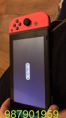 vendo mi nintendo switch semi nuevo.