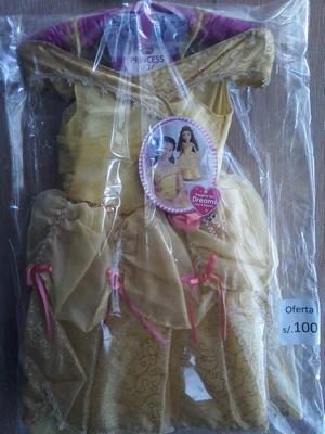 vestido niña disney