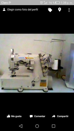 Maquinas de Coser: RECTA, RECUBREDORA, REMALLADORA
