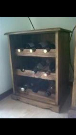 Cajas de madera para vinos y licores lima posot class for Mueble vinos