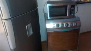 Remato Combo Refrigeradora Cocina Microo