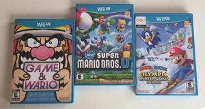 Oferta Pack 3 Juegos De Wii U (originales)