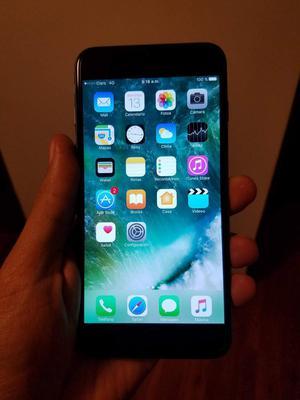 iphone 6 plus de 128 gb, operador claro. entrego equipo