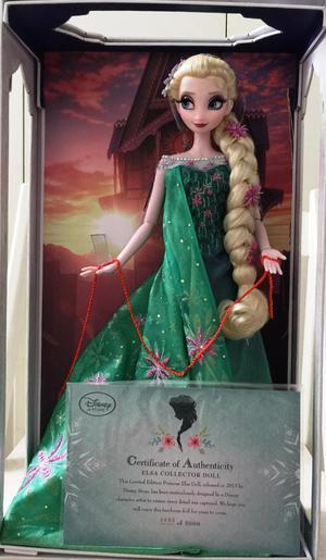 2 muñecas Disney Frozen Fever Edición Limitada