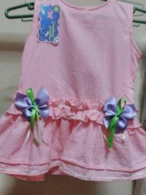 Vestido para niñas de 2 años