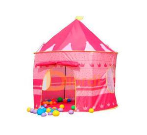 Carpa Castillo Para Niños Juegos En Casa Campo Aire Libre