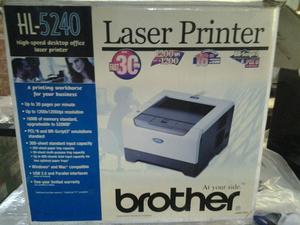 Impresora marca brother HL laser printer