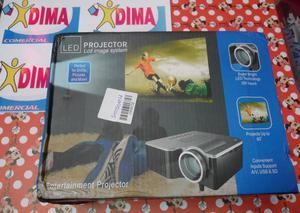 PROYECTOR LED UC28 VGA HDMI NUEVO EN CAJA IMPORTADOR DIMA
