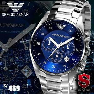 b73b4b0425f Reloj emporio armani nuevo y original