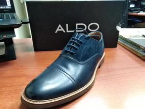 Zapato Aldo Color Azul Talla 40