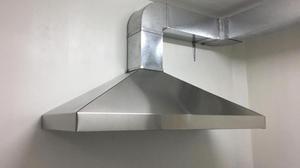 Campana industrial posot class - Campana extractora cocina industrial ...