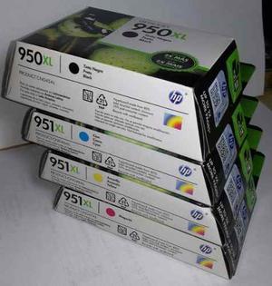 Cartucho De Tinta Hp Original 950xl Negro / 951xl Color