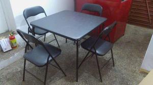 Juego de comedor mesa 4 sillas moderno posot class Juego de comedor 4 sillas moderno