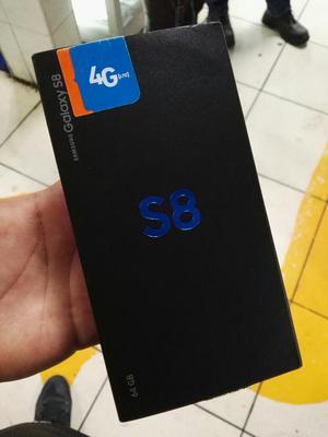 Samsung Galaxy S8 Libre en Caja Detalle