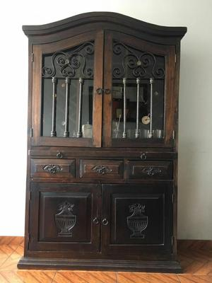 Muebles estilo rustico de madera cedro y tornillo posot for Muebles estilo rustico