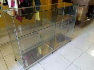 Vitrinas Aluminio Y Vidrio