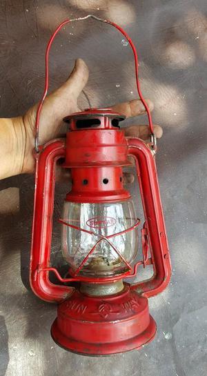 ANTIGUA LAMPARA DE MECHA