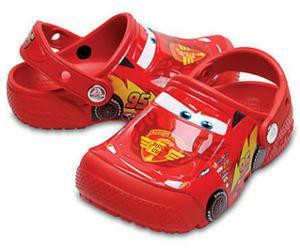 Crocs de Niño Cars