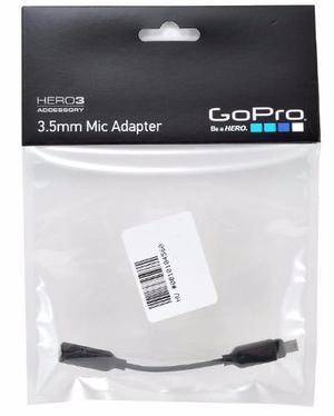 Gopro Adaptador De Micrófono De 3,5 Mm Amccc-301