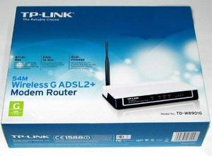 Remato Router Tp Link Adsl Td-wg - Configurado