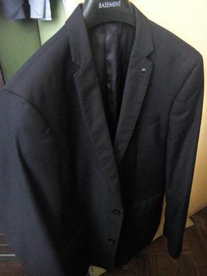 Saco Basement Slim Fit L Blazer Negro