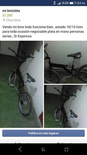 Vendo Mi Bici Bmx