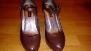 Zapatos Ciara De Cuero Talla 36