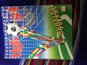 albuM de la copa mundial de usa 94 navarrete NUEVO VACIO