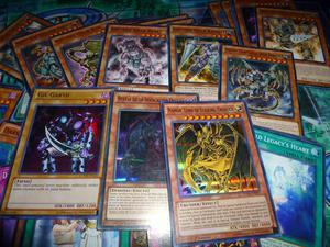 otros 7 lotes de 65 cartas de yugioh