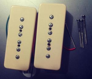 pastillas cort p90 para guitarra