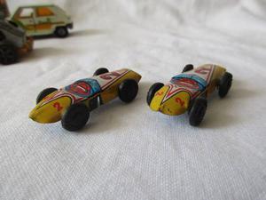 Carro Carrito Juguete Miniatura Hojalata Colección