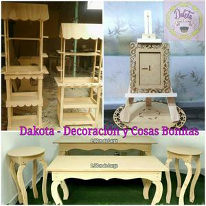 Alquiler mesas vintage y accesorios en trupan posot class for Accesorios de decoracion