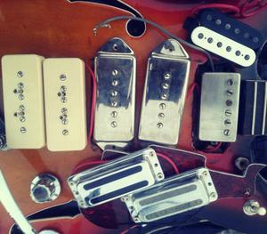guitarra pastillas a buen precio