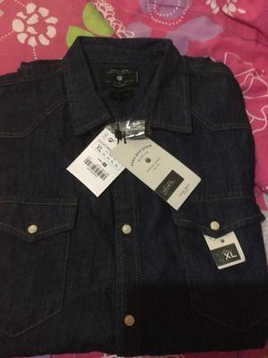 Camisa Manga Larga Zara P Hombre