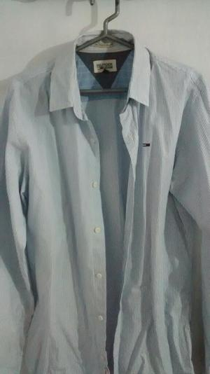 Camisa Tommy Hilfiger, Eterna Slim, Zara