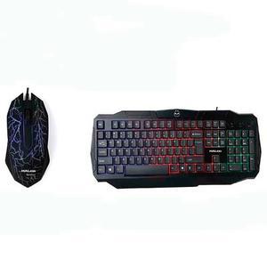 Combo Gamer Teclado + Mouse Halion Ha-805c Rainbow Isc