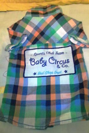 Vendo Camisa para Bebe Talla 1
