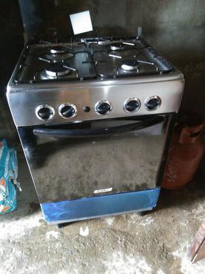 Cocina a gas coldex posot class for Cocina acero inoxidable
