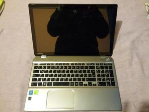 Laptop Toshiba P55T ASL Tactil Core i7 12GB Ram 2GB