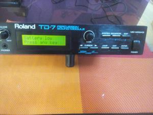 Roland Td7 Modulo de Sonido Percusion
