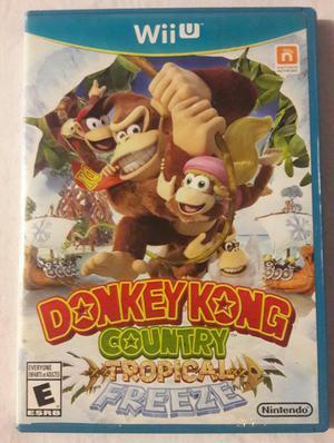 Vendi Juego de Wii U Donkey Kong