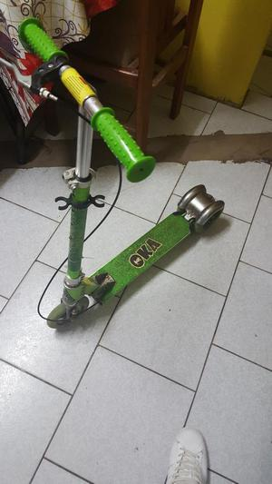 Vendo Scooter Oka con Luces en Llantas