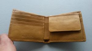 Billetera de cuero marca Hidesign NUEVO