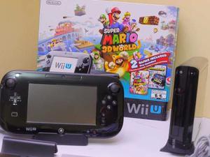 Nintendo Wii U + Juegos: Mario 3d World / Mario Kart 8