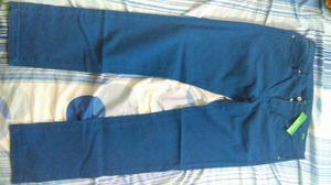 Pantalon Benetton Original Nuevo Talla34