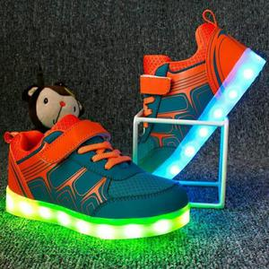 Zapatillas Luz Led Usb