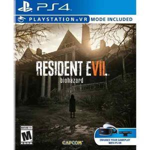 Resident Evil 7 Ps4 Nuevo - Envio Gratis Hoy