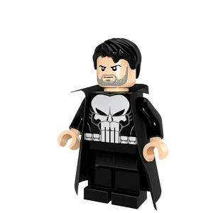 The Punisher Armable Tipo Lego