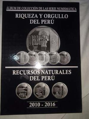 Album Para Coleccion De Monedas Riquezas Del Peru