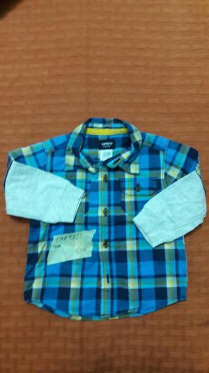 Camisa Carter's Talla 9m